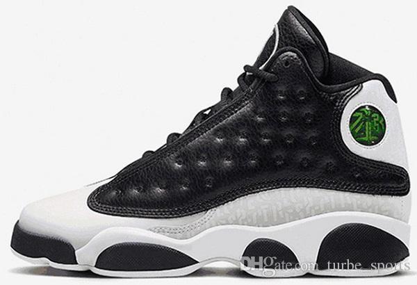 2018 chaussures de basket-ball pour hommes 13 13s Melo Oak Hill chat noir Hyper Royal olive Blé GS Bordeaux DMP Chicago sport Baskets taille 7-13