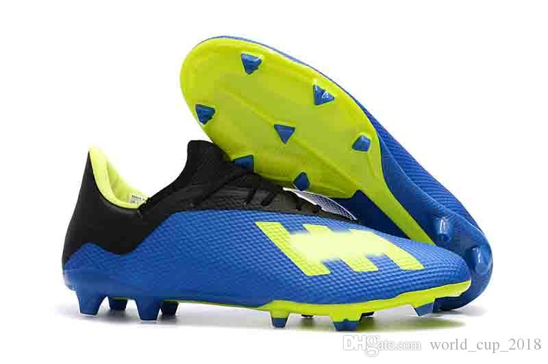 2018 2018 Ace 17 X18.3 Purecontrol Fg Soccer Shoes New Arrival Men'S Soccer Boots Cheap Performance Male Ace 17 Soccer Cleats Football S From ...