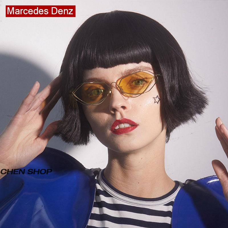 e80c552b11d 2018 Irregular Stylish Sunglasses Fashion Retro Travel Men Women Brand  Designer Fashion 2018 New Glasses Face Thinning Uv400 Sunglases Cheap  Designer ...