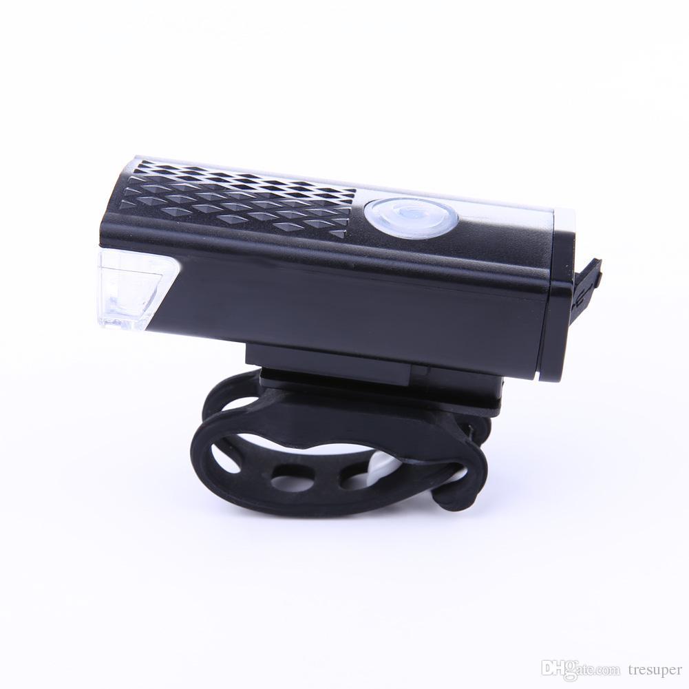 RAYPAL-2255 300 LM السوبر مشرق الصمام الدراجة الخفيفة الدراجات كشافات 3 وضع USB القابلة لإعادة الشحن مصباح LED دراجات