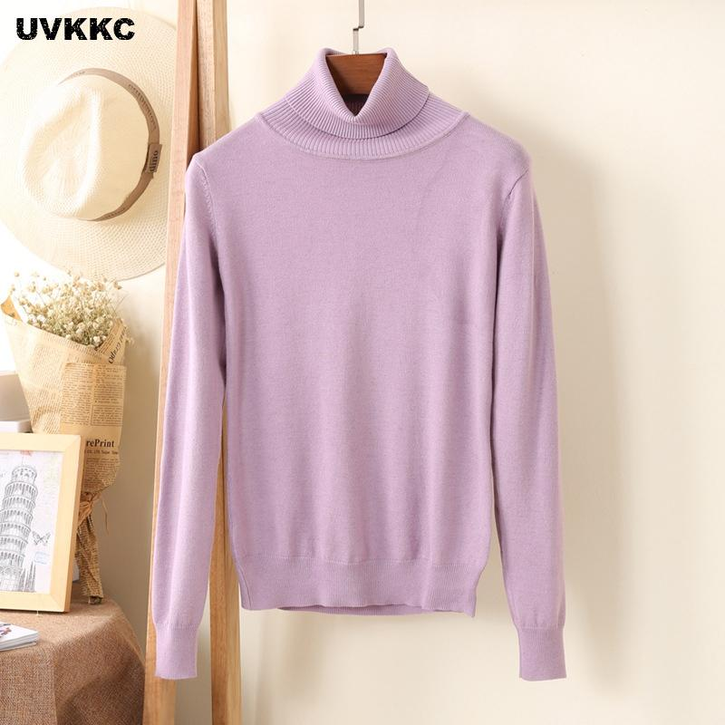 0181f70fec Hot Selling New Arrival Women S Sweater Wool Sweaters Female Turtleneck  Pullover Cashmere Sweater Knitted Pullover Sweaters S18100802 UK 2019 From  Jinmei02