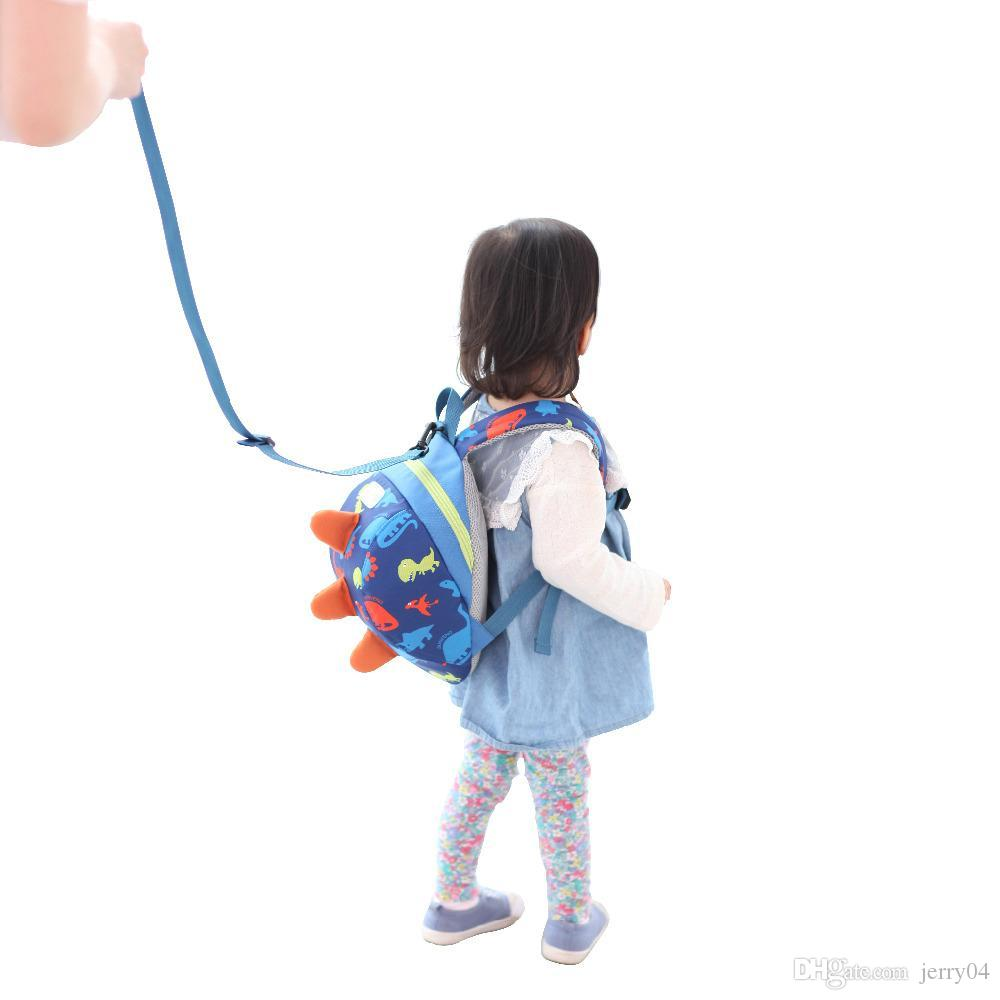 Cute Cartoon Toddler Baby Harness Backpack Leash Safety Anti Lost