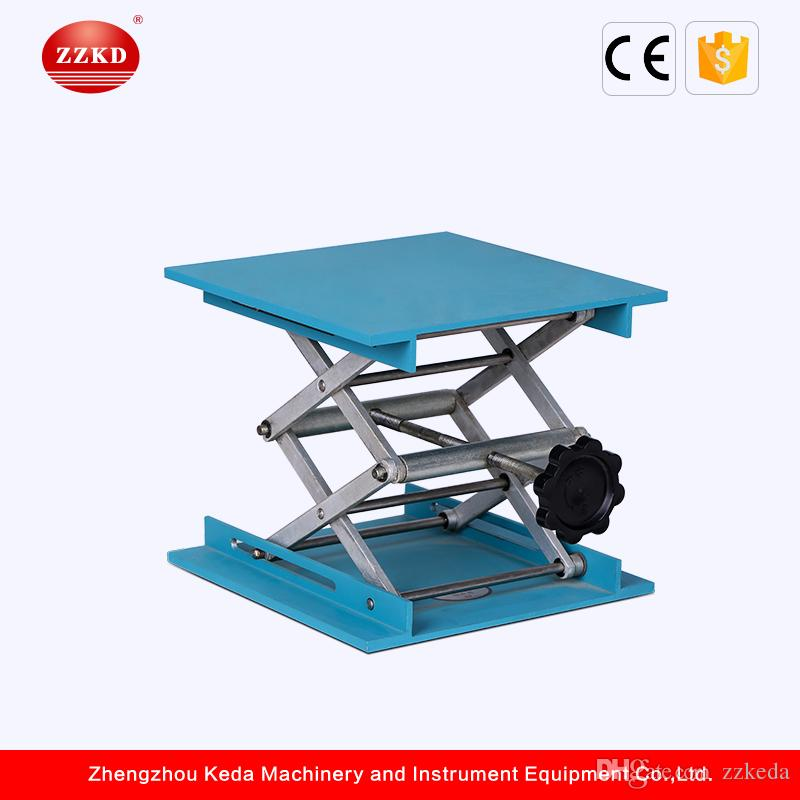 ZZKD Lifting Table Small Laboratory Aluminum Oxidation Elevating Platforms  Chemical Laboratory Metal Lifts School Laboratory Equipment