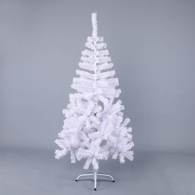 150cm White Luxury Christmas Tree Diy Decorations For Home Iron Foot