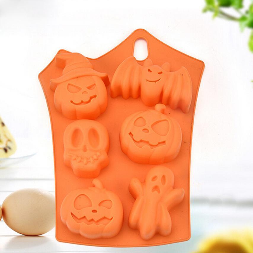 Acquista Decorazione Di Halloween Creativo Happy Halloween Silicone Pumpkin  Cake Stampo In Silicone Cucina Cuocere Gli Strumenti A  1.91 Dal Elighter  ... 50501724ffab