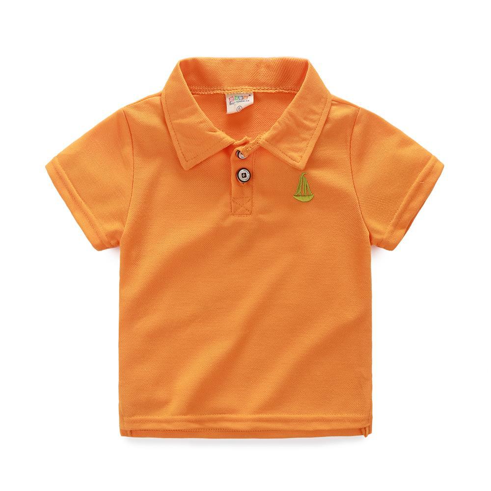 b6e5d4226 2019 Boys Polo Shirt Kids Clothes Camisa Polo Menino Candy Color Cartoon  Cotton Summer Tee Tops Children Jongens Boy Shirt Blouse From Yuan0907, ...