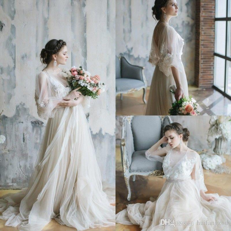Gallery Bohemian Wedding Dresses: Discount 2018 Spring Sexy Bohemian Wedding Dresses Long