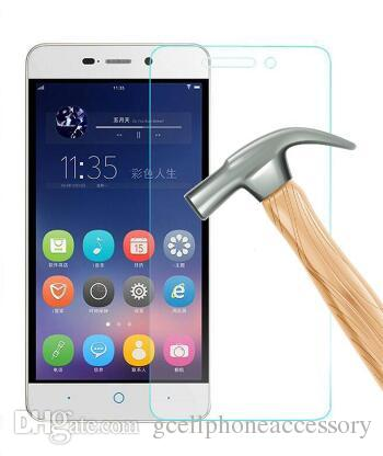 9H Tempered Glass Screen Protector for ZTE Blade D6 V6 A510 A610 Nubia Z9 Z11 mini Protective Films Case