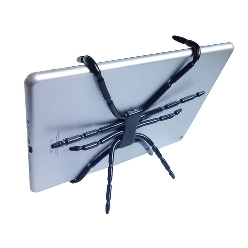 Spider Tablet Holder Octopus Tablet Stand for iPad iPhone Cell Phone Foldable Folding Mount on Bed Bike Car Desk HD01