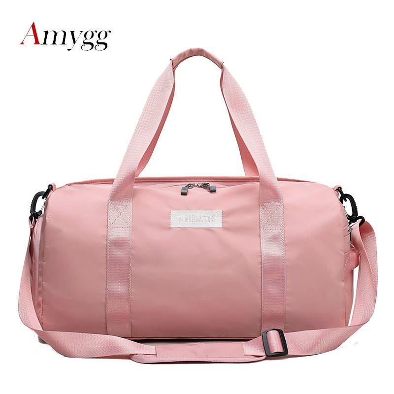 ab9c5b87316e Waterproof Nylon Travel Bags Women Men Large Capacity Folding Duffle Bag  Organizer Packing Cubes Luggage Girl Weekend Bag Sac Gym Bags For Women  Messenger ...