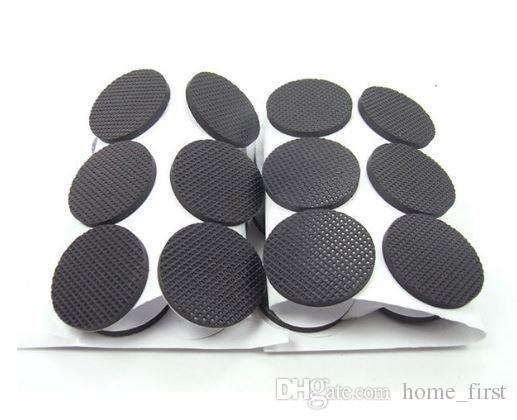 Güçlü Köpük dokunmamış Pamuk Kauçuk Sünger Ayak Pedi Siyah Yapışkanlı Ped Beyaz Yapışkan Antiskid Masa Mat Yatak Yastık