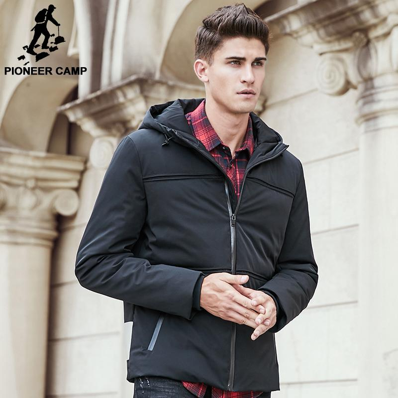 80dd424e12 2019 Pioneer Camp New Fashion Winter Down Jacket Coat Men Brand Clothing  Top Quality Male Duck Down Jacket Casual Parkas 611619 From Feiyancao, ...