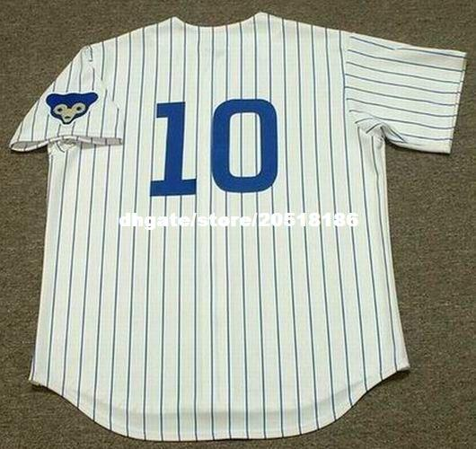 cheap custom ron santo chicago stitched 1969 majestic cooperstown throwback home baseball jersey retro mens jerseys retro baseball jersey cheap baseba