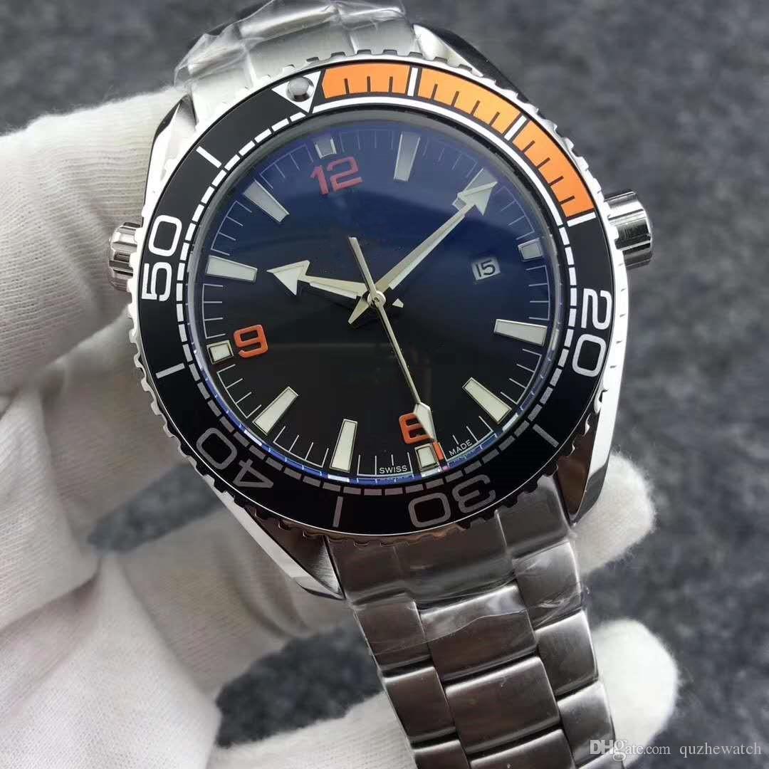 2edc49237b6 Compre Aa1 2813 Pulseira De Aço Inoxidável Dos Homens Mecânicos Movimento  Automático Watch Sports Mens Relógios Auto Vento 007 Relógios De Pulso  Skyfall De ...