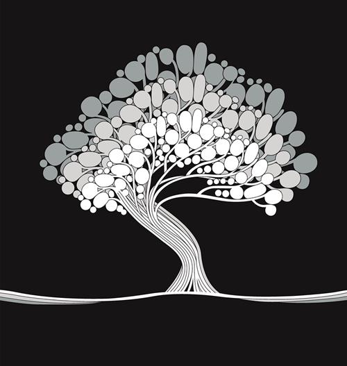Árvore grande abstrato Cortina Banheiro Poliéster Tecido Casa de Banho Cortina de Impressão A Cores À Prova D 'Água Mild Poliéster Casa Cortina de Chuveiro BY20 122