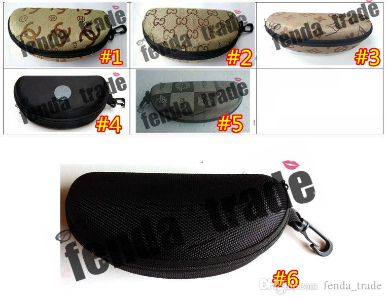 Compre Fibra Portátil Colorida Cubierta Gafas De Sol Caso Para Mujeres Caja  De Vidrios Con Cremallera Gafas Casos Gafas Accesorios Impermeable Gafas De  Sol ... 0b60d7bc3e56