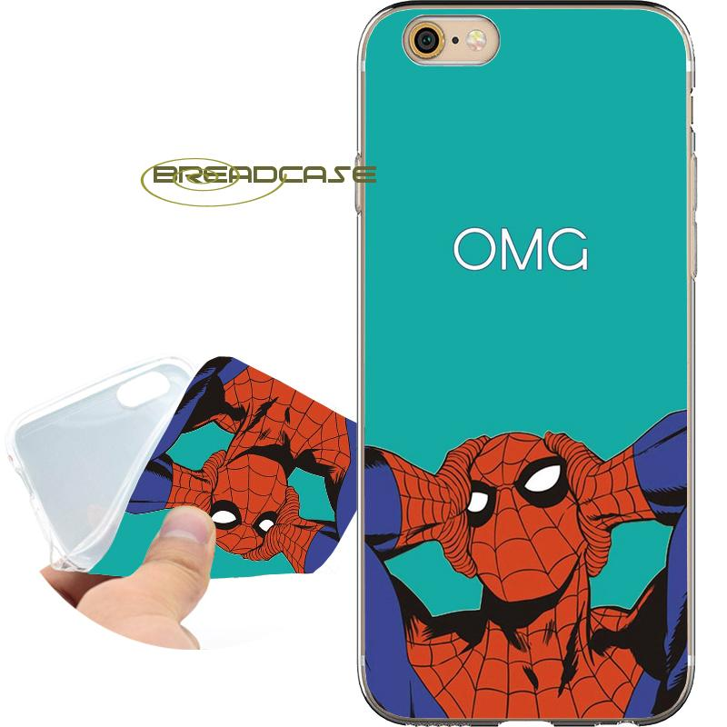 coque iphone 6 spider man