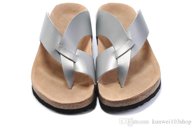 1678030eb Casual Cork Beach Shoes Flat Home Slippers Shoes Brand Flip Flops Summer  Sandals Platform Shoes Brown Wedges Gold Wedges From Kunwei103shop