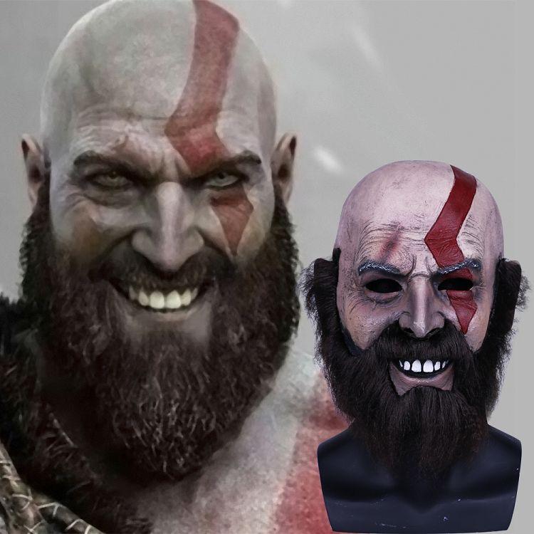 Großhandel God Of War Spiele Kratos Maske Cosplay