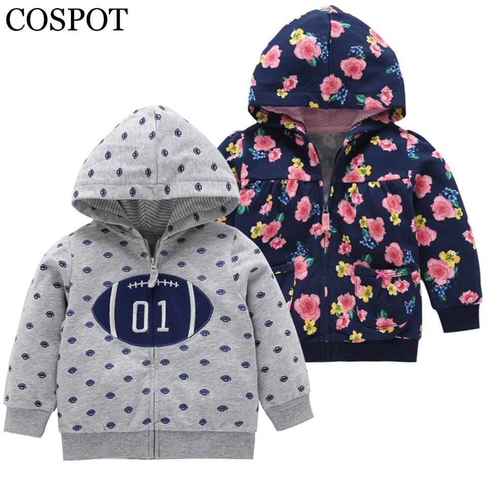 b70c8183c 2019 COSPOT 2018 New Baby Girls Boys Hoodies Cotton Spring Autumn ...