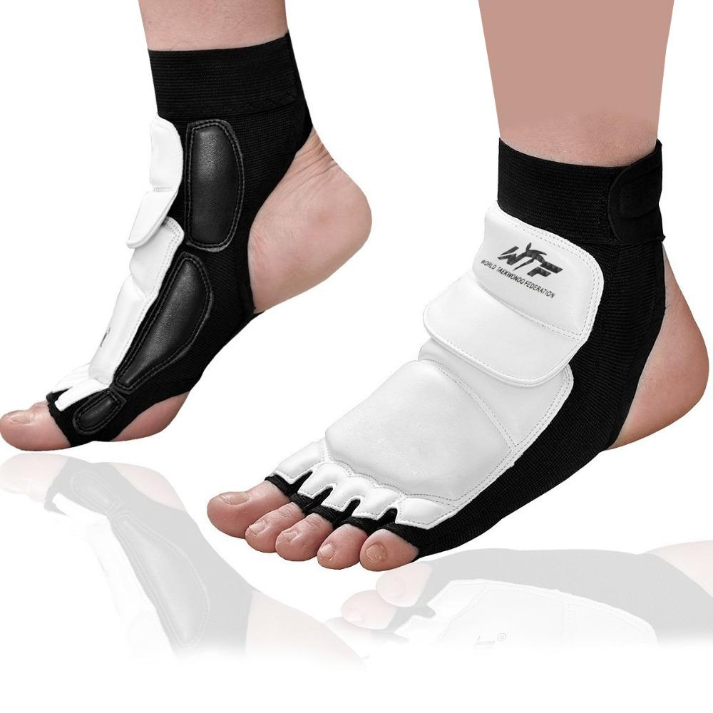 Sports Accessories 2 Piece Ankle Foot Support Brace Elastic Compression Wrap Sleeve Bandage Brace Support Protection New High Quality