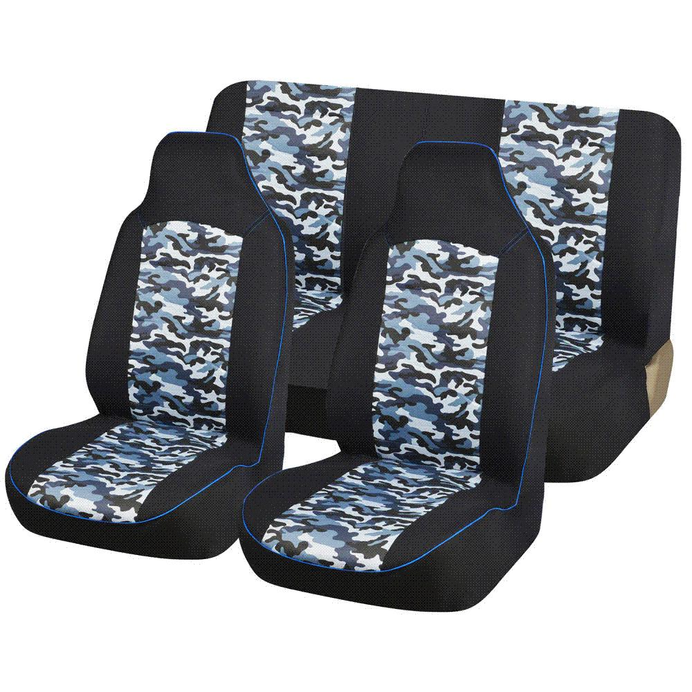 Automobiles Seat Covers Bucket Seats Universal Fit Car Accessories Fashion Camouflage Styling AUTOYOUTH Protector For