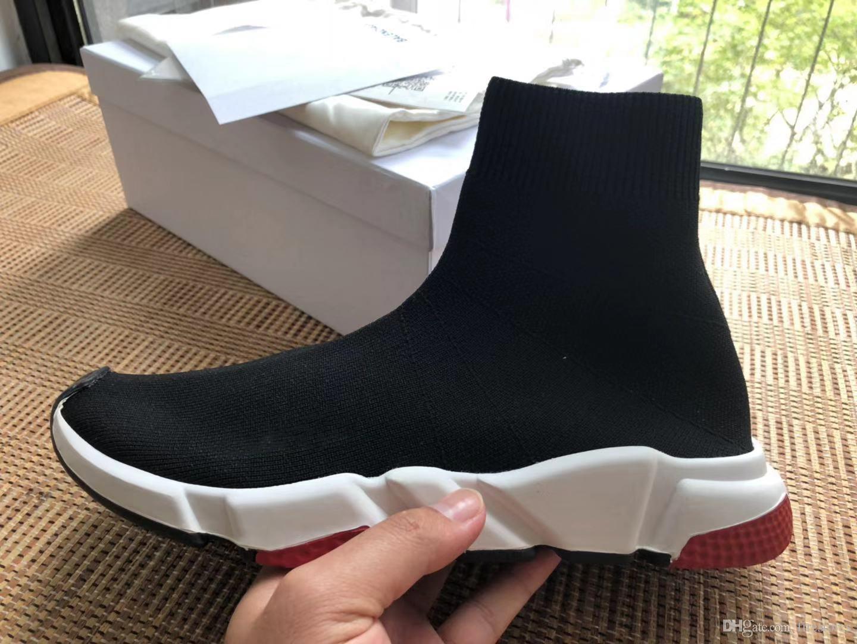 Acquista Fashion Designer Calze Scarpe Speed Shoes Donna Stivali Sneakers  Scarpe Firmate Trainer S Calze Race Runner Nero Scarpa Uomo Donna Scarpa  Vecchia ... 38ffb3a9361