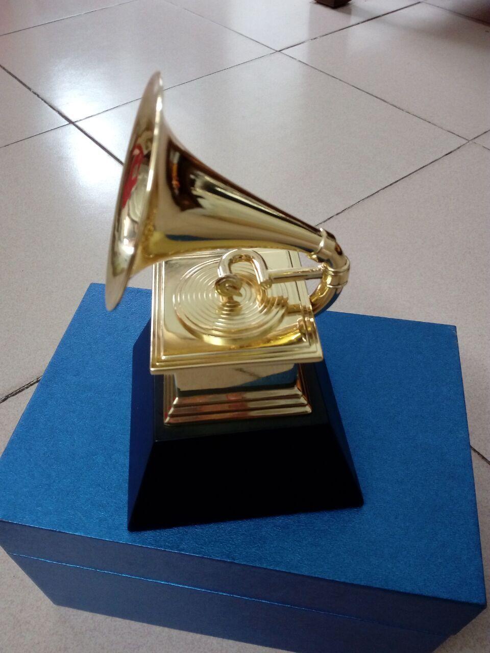 gold plated gramophone award