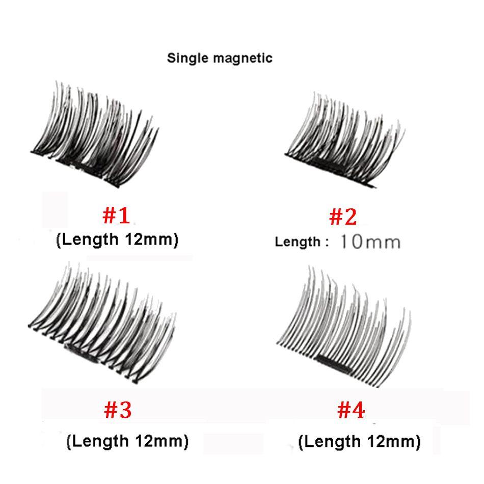 الجملة megnetic الرموش ماكياج الجمال التبعي لا الغراء reusable المضادة للحساسية الإناث الشعر وهمية الرموش مع مربع التجزئة