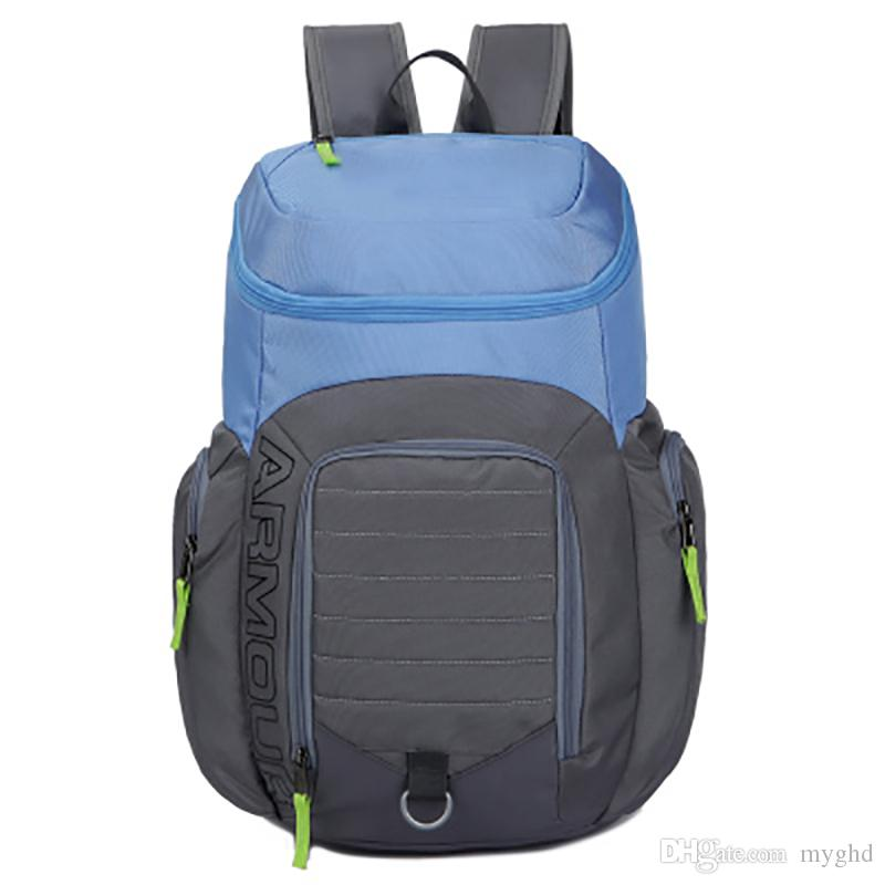 4fc8d0305d8d 2018 New UA Backpack Casual Hiking Camping Backpacks Waterproof Travel  Outdoor Bags Teenager School Bag Makeup Bags DHL Shipping NO 605 Bags  Rucksack From ...