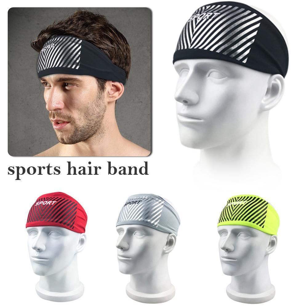 Sports & Entertainment Fitness & Body Building Fitness Sports Sweatband Headband Tennis Badminton Running Jogging Sweat Band Male Women Yoga Gym Hairband Head Band