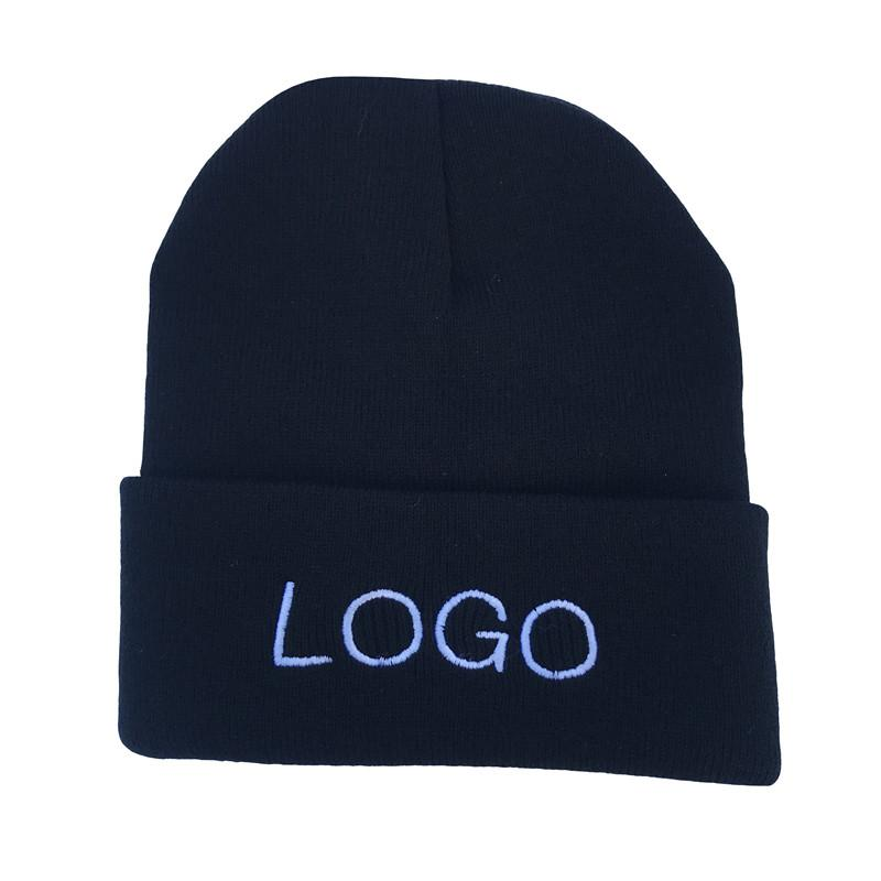 a022abe68e668 2019 Custom Hat Caps Embroidered Your Own Text Print Name Team Collective  Private Customization Woman Winter Beanies Knitted Hat Mens From Fwuyun