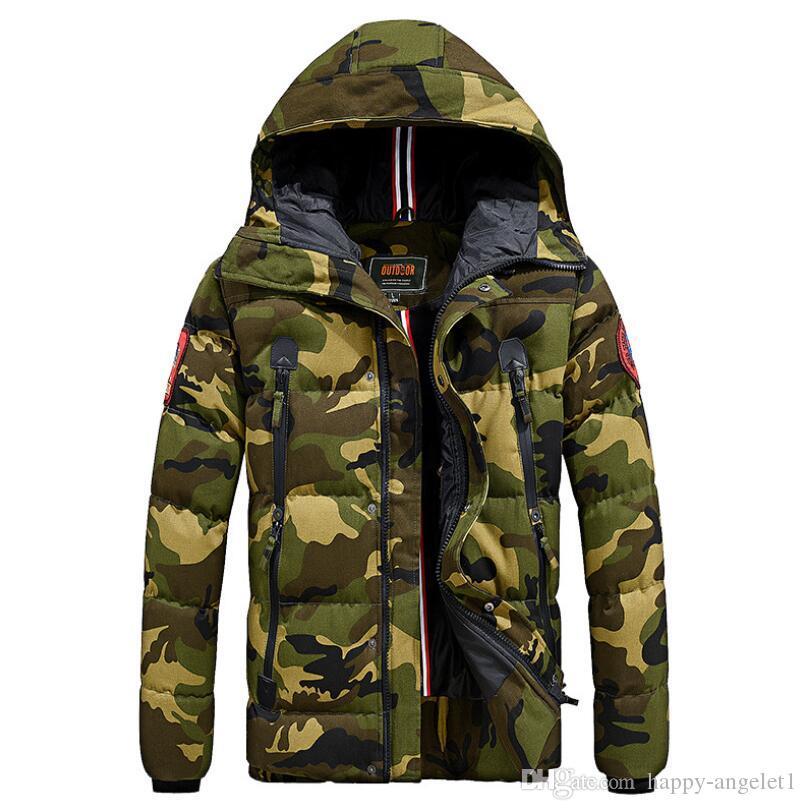 Acquista Cappotto Invernale Tattico Militare Uomo Inverno 2018 ... 46659f58ecf