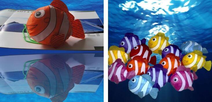 Полиэстер клоун рыба портативный складной хозяйственные сумки многоразовые охраны окружающей среды мешок эко-сумки Сумки тотализатор