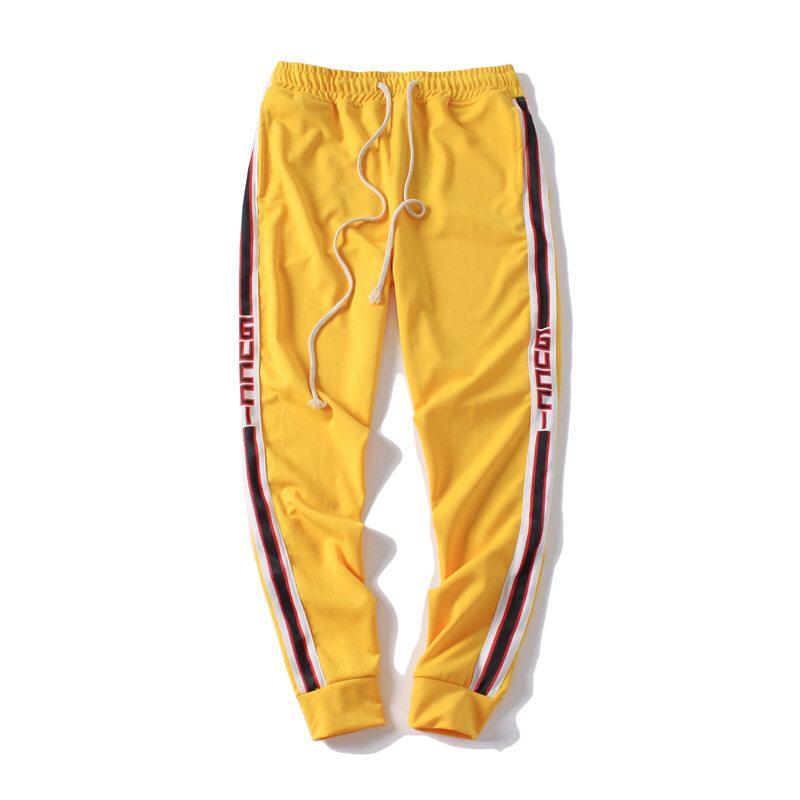 15bb5141 2019 Mens Designer Jogger Track Pants Fashion Brand Jogger Clothing Side  Stripe Drawstring Trousers Brand Sport Sweat Pants For Male From Tt_girl,  ...