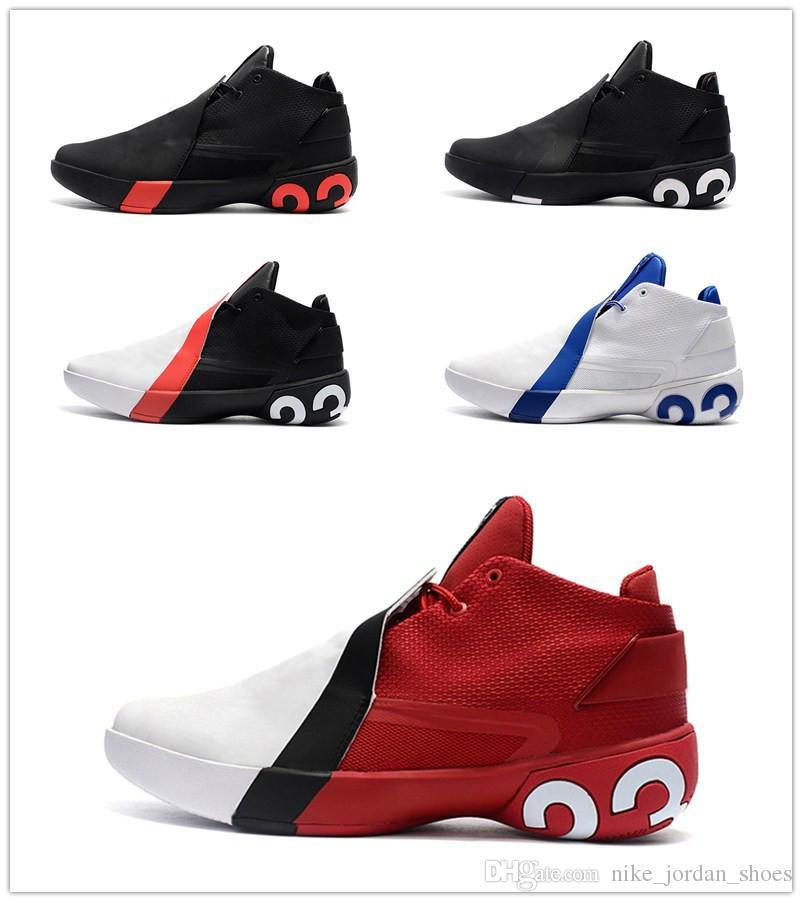 tout neuf 33100 6d966 Nouveau 23 Ultra Super Fly 3 X Slam Dunk Formateur MVP Blanc Rouge Hommes  Basketball Chaussures Pas Cher Athletic Designer Sport Sneakers avec boîte