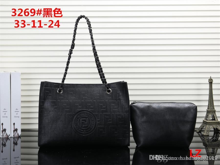 300cb853c Compre 2019 Venda Quente Mulheres Sacos De Designer De Moda PU Bolsas De Couro  Nova Marca Mochila Senhoras Bolsa De Ombro Tote Bolsa Carteiras LZ3269   Mk  ...