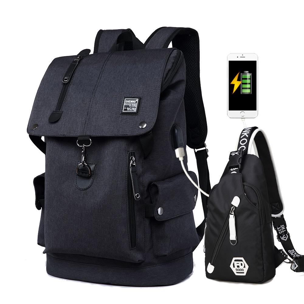 2018 New Kids School Bags Usb Anti Theft Travel Backpack High Capacity Waterproof  Shoulder Book Bag For Teenager Boys Girl Messenger Bags For School Bags ... 454e54e6e66cf
