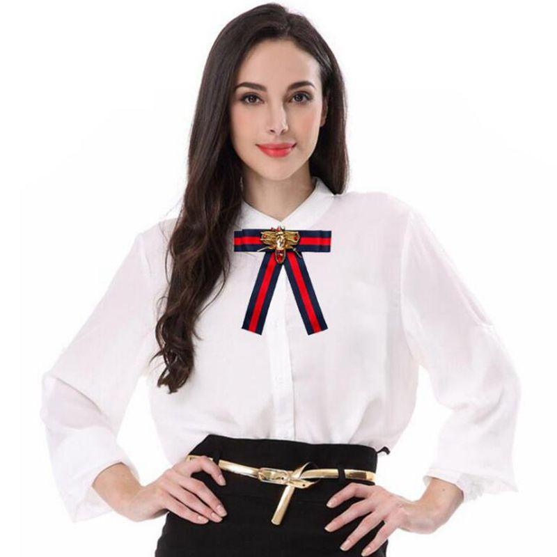 nouvelle libellule tissu arc broches pour les femmes cravate style broche épingle robe de mariée chemise chemise broche accessoires à la main bon cadeau en gros
