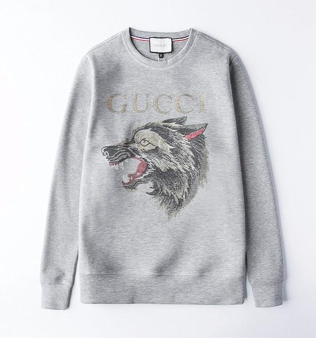 2baaa17f80f Men s Hoodies Fashion Long Sleeve Couple Autumn Loose Pullover for Women Hot  Drilling New Arrival Classical Wolf Men Hoodies Sweater Hoodies Wool  Sweaetr ...