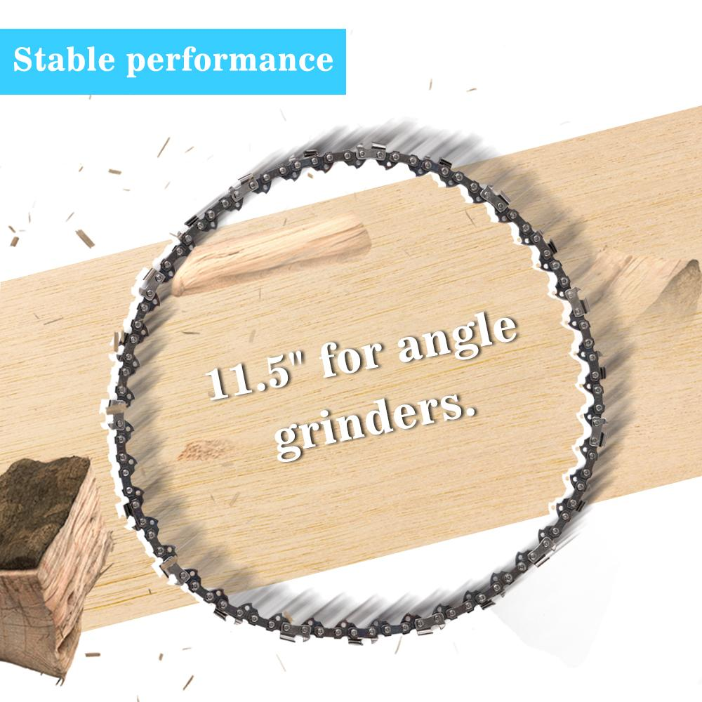 """65 Manganese 11.5""""/16"""" Chainsaw Chain Saw Blade for Wood Cutting Chainsaws Accessories Professional Power Tools"""