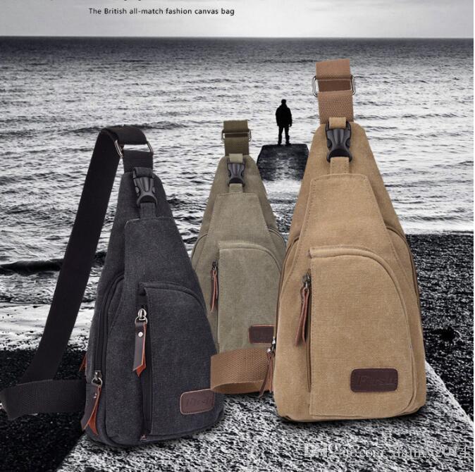 휴대용 미니 야외 하이킹 가슴 가방 사냥 전술 가방 사이클링 스포츠 어깨 가방 캠핑 여행 캔버스 팩