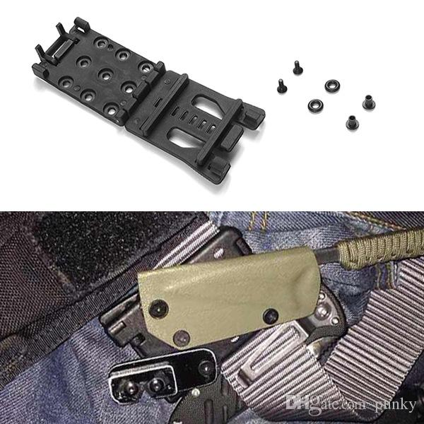 Multifunction Waist Clip Back Clamp K Tools Black Outdoor Sport Camping Climbing Travel EDC Gear
