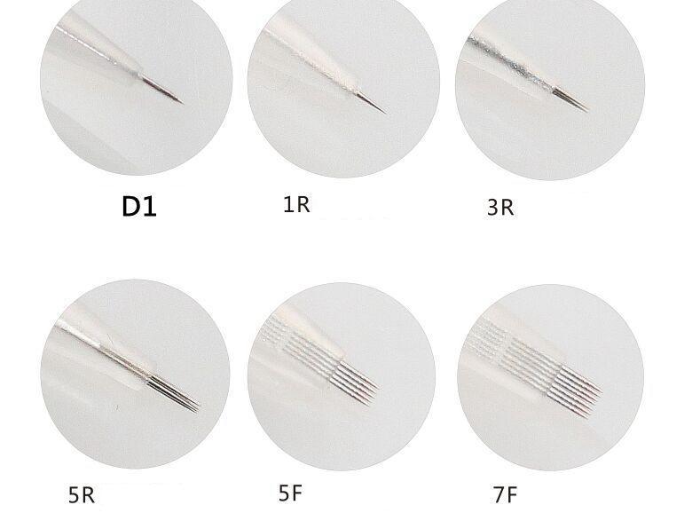 Yeni Xia Meng III Şeker Iğne CHARMANT II Kalıcı Makyaj İğneleri Microneedle Cilt Bakımı için Anti-aging Dövme İğne