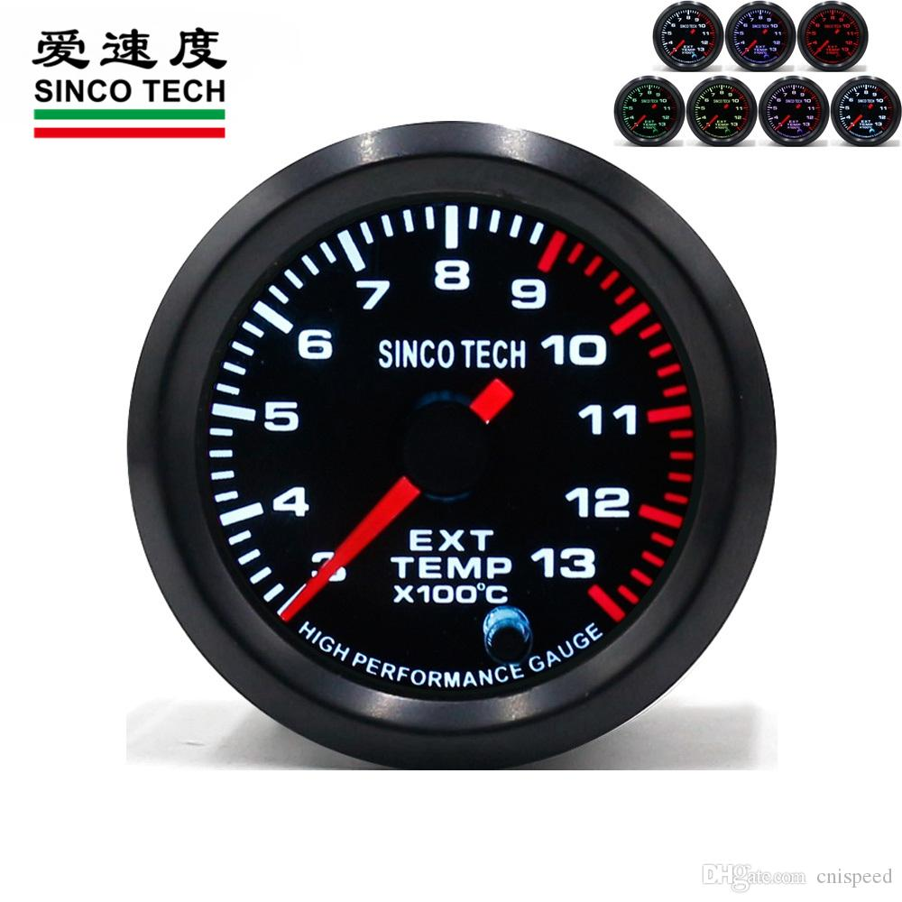 Exhaust gas temperature race car gauges permanent magnet motor instrument  DO6349