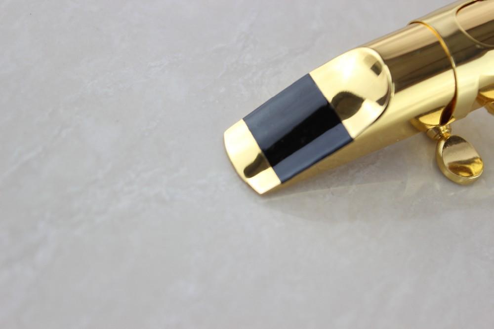 알토 Eb 색소폰 용 골드 및 실버 도금 크기 용 고품질 색소폰 마우스 피스 5.6.7.8.9 악세서리 액세서리