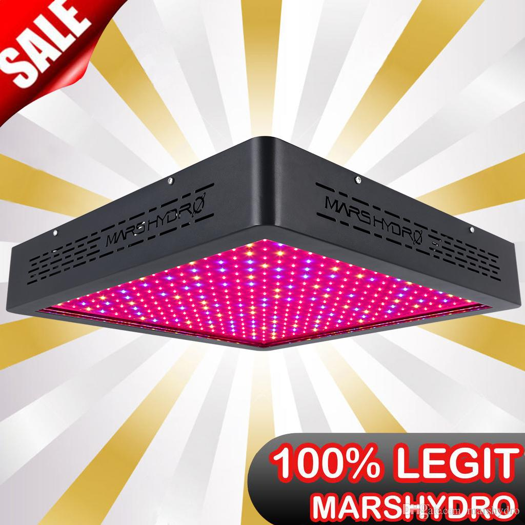 Marshydro Led Grow Lights Mars Ii 1600 Full Spectrum Lamp For
