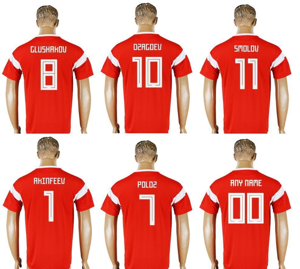 New Russia  1 Igor Akinfeev 10 Alan Dzagoev 7 Dmitry Poloz 8 Denis ... 244dc89f7