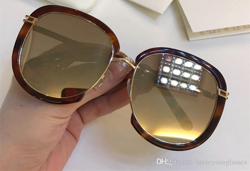 f05fe223ed8 Luxury 143 Sunglasses For Women Fashion Deisng CE143 Square Frame UV400 Len  Summer Style Favorite Type Designer Face Come With Case Sunglasses Hut  Reading ...