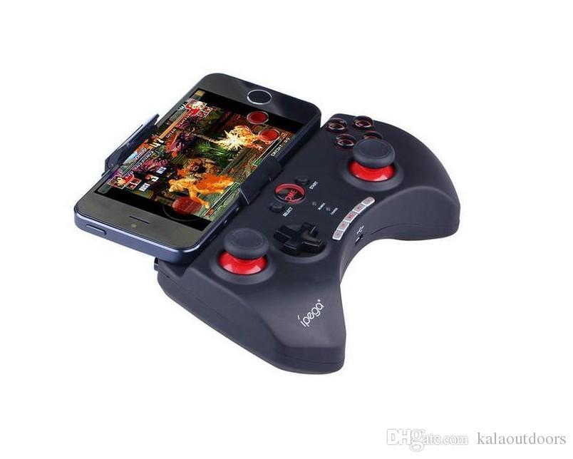 2018 Sıcak Satış iPega PG-9025 9025 Kablosuz Bluetooth Gamepad Oyun denetleyicisi Joystick iPhone iPad Projektör TV KUTUSU Için Android telefonlar PC